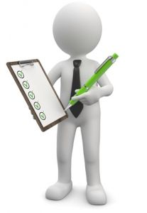 Checkliste Bürostuhl Test