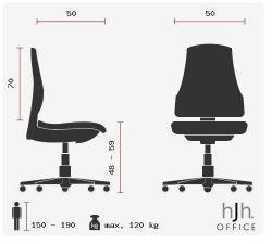 HJH OFFICE Aria High Bürostuhl