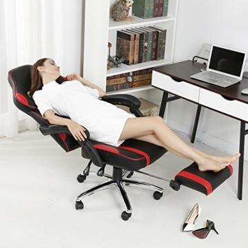 LANGRIA Schreibtischstuhl Gaming Stuhl