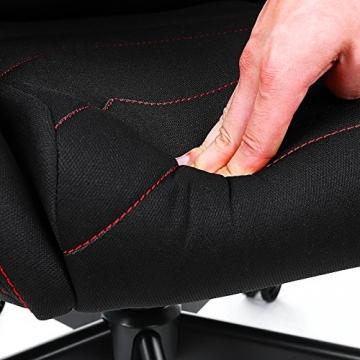 Songmics Gaming Stuhl Bürostuhl