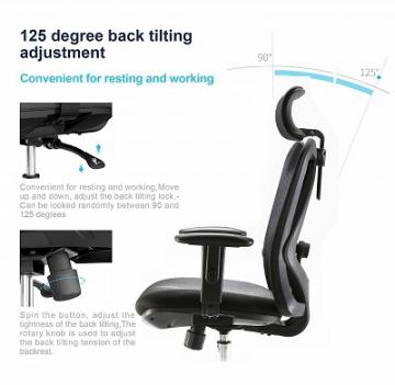 SIHOO Ergonomischer Schreibtischstuhl
