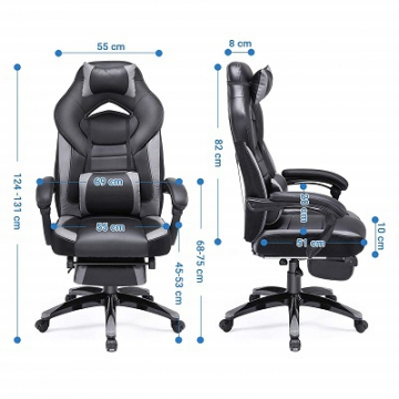 SONGMICS OBG77BG Gamingstuhl